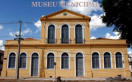 Paço abrigará o Museu Municipal